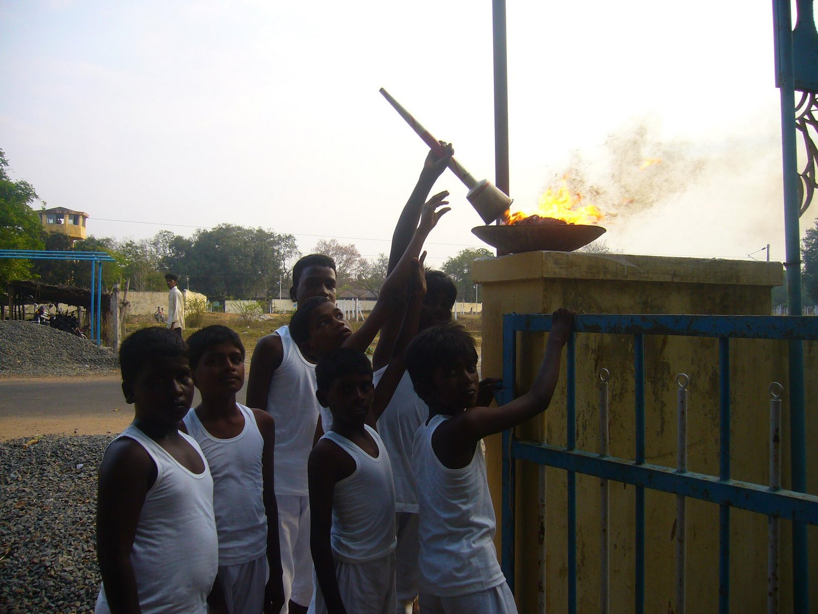 Sports day celebration at Siragu